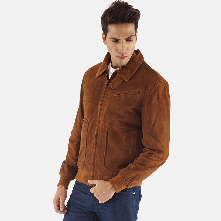 suede leather jacket for men