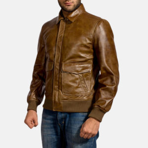Formerly known as aviator jackets or flight jackets and worn strictly by the military or aviator pilots as a uniform.