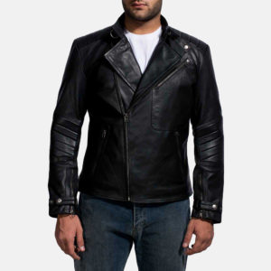 The Jacket Maker is the perfect place to get cool black leather jackets for the leather boy look.
