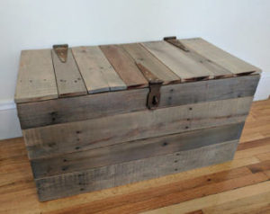 Using wooden trunks to store your leather jackets is one of three great ways.