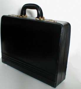 The colours of a majority of briefcases usually revolve around black, brown or tan.