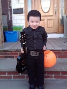 Johnny Cash Kid Halloween costume