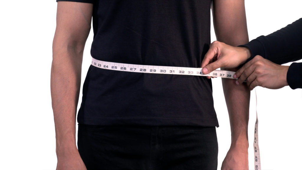 How to measure your Lower Waist