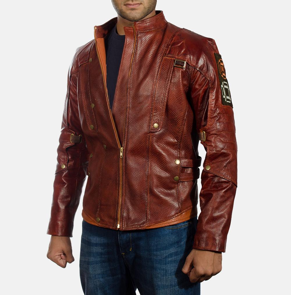 Mars-Maroon-Leather-Jacket