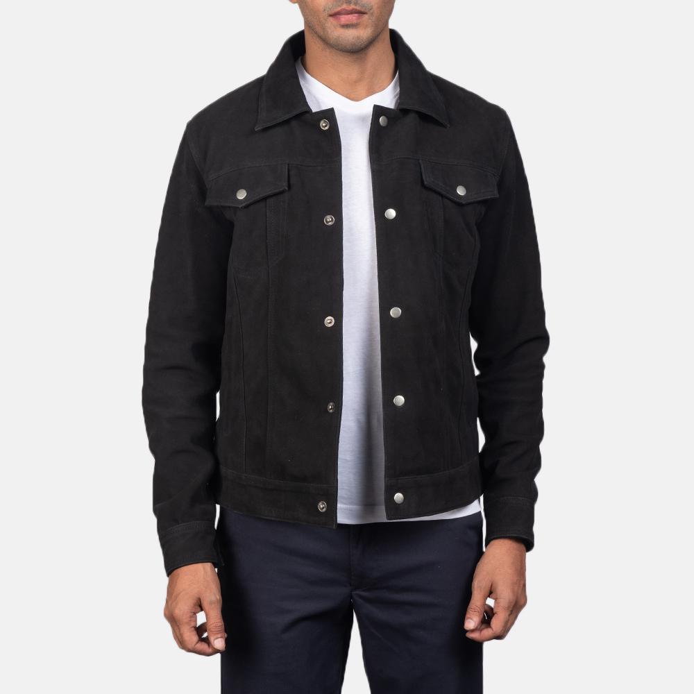 best black suede jacket