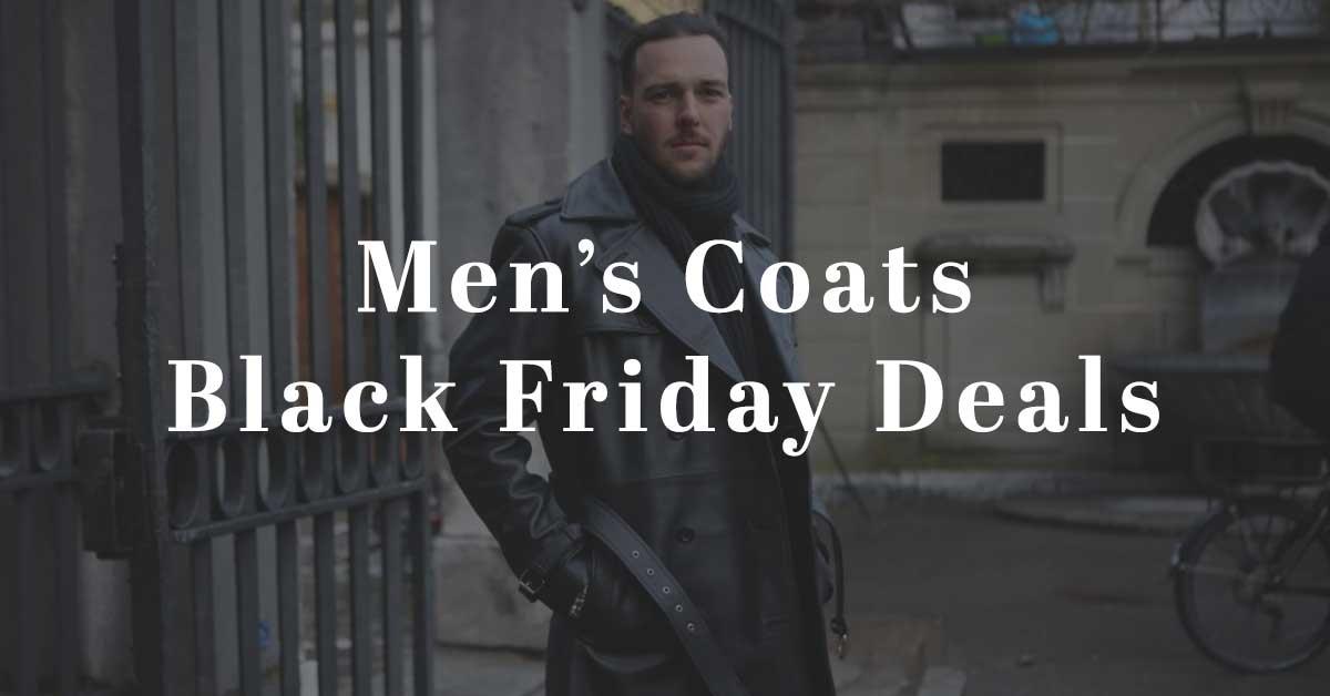 black friday deals on mens coats