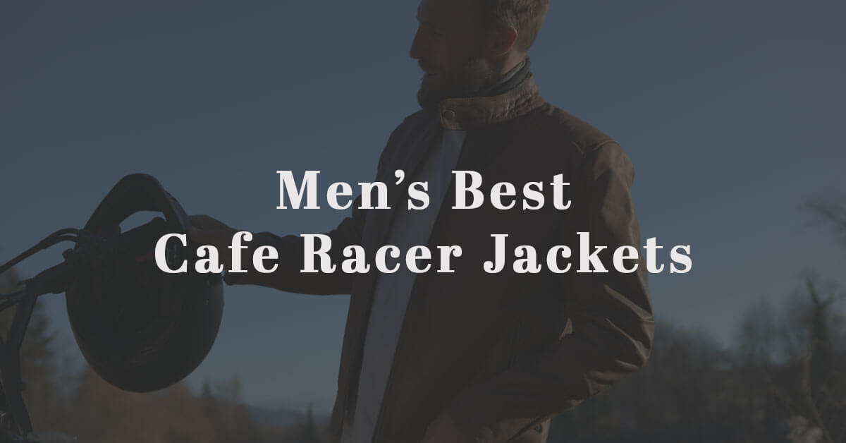 Cafe Racer Jackets For Men