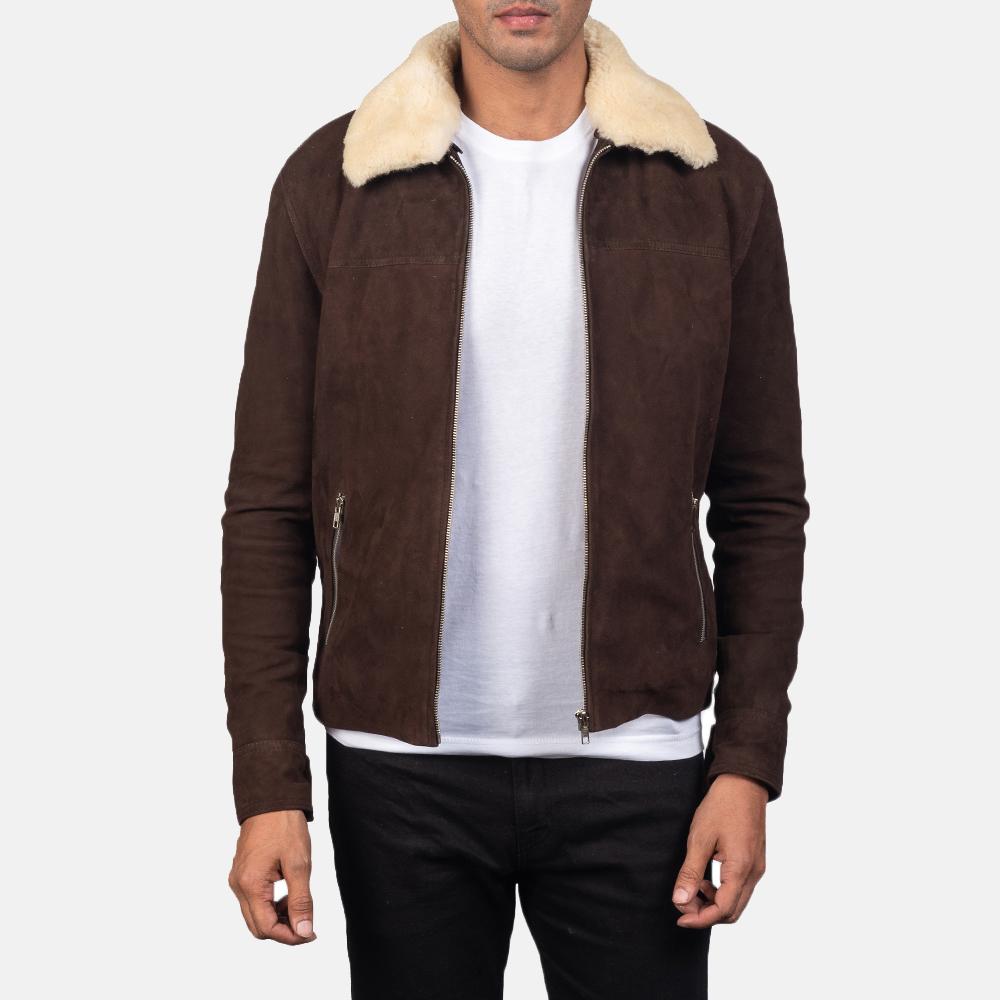 best brown suede jacket