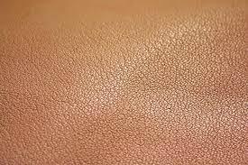 Pure aniline leather