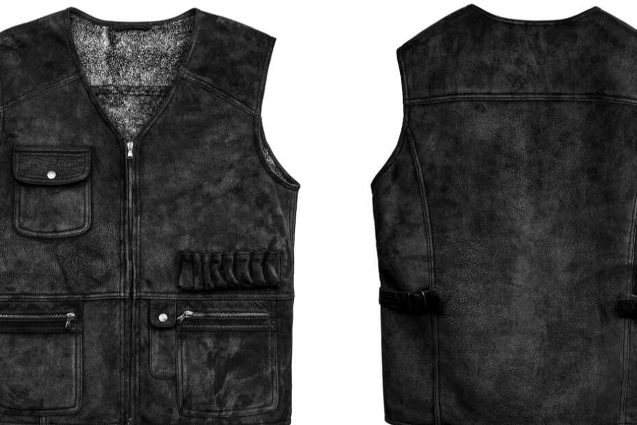 best leather vest