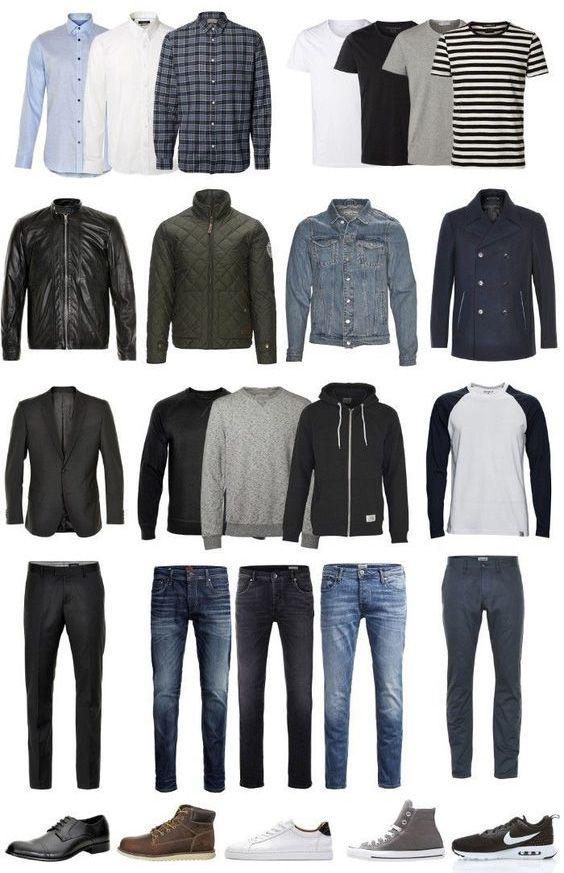 minimalist wardrobe for men with everyday essentials