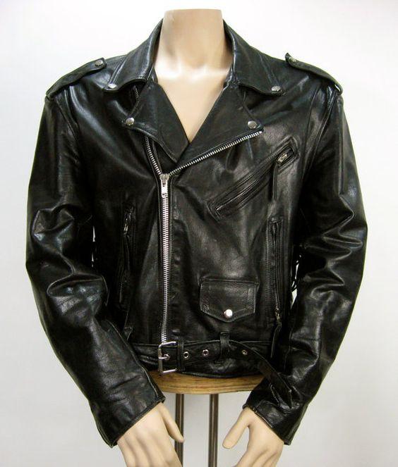 vintage biker jacket from 1960