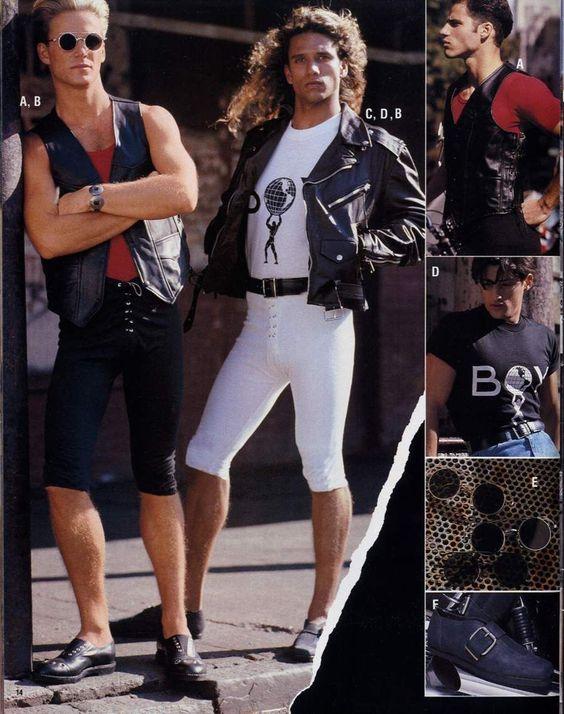 1980 rock fashion
