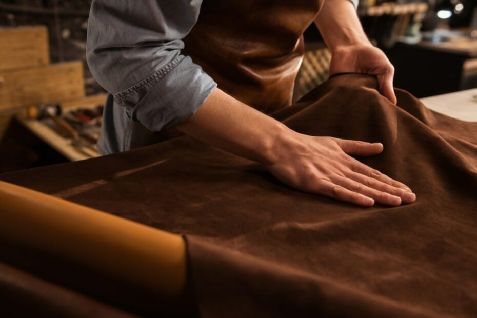 What is protein leather
