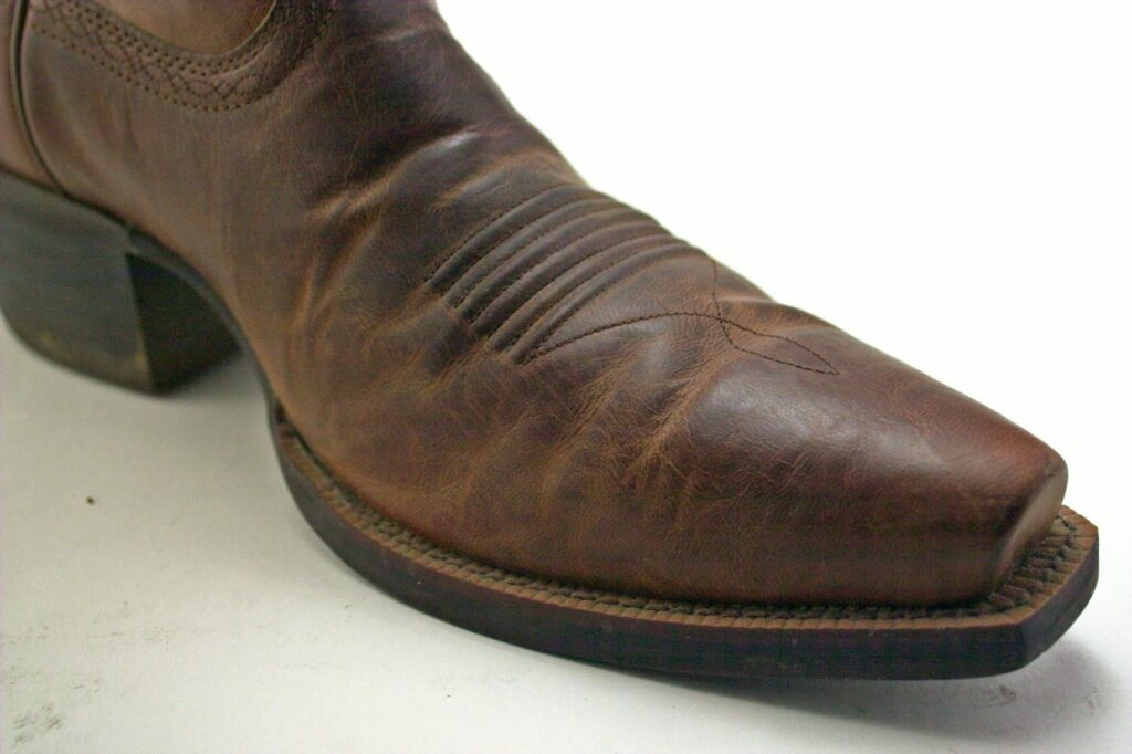 vintage leather boot