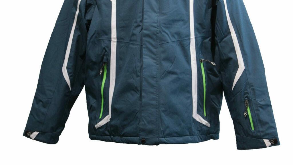 a hardshell jacket