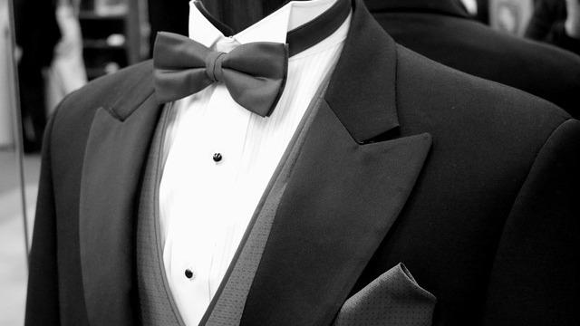 a formal tuxedo